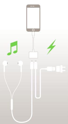 Belkin Lightning and Audio and Power